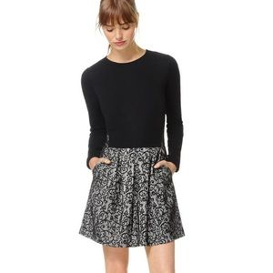 Aritzia Wilfred Tartine Black Lace Dress - Size 0